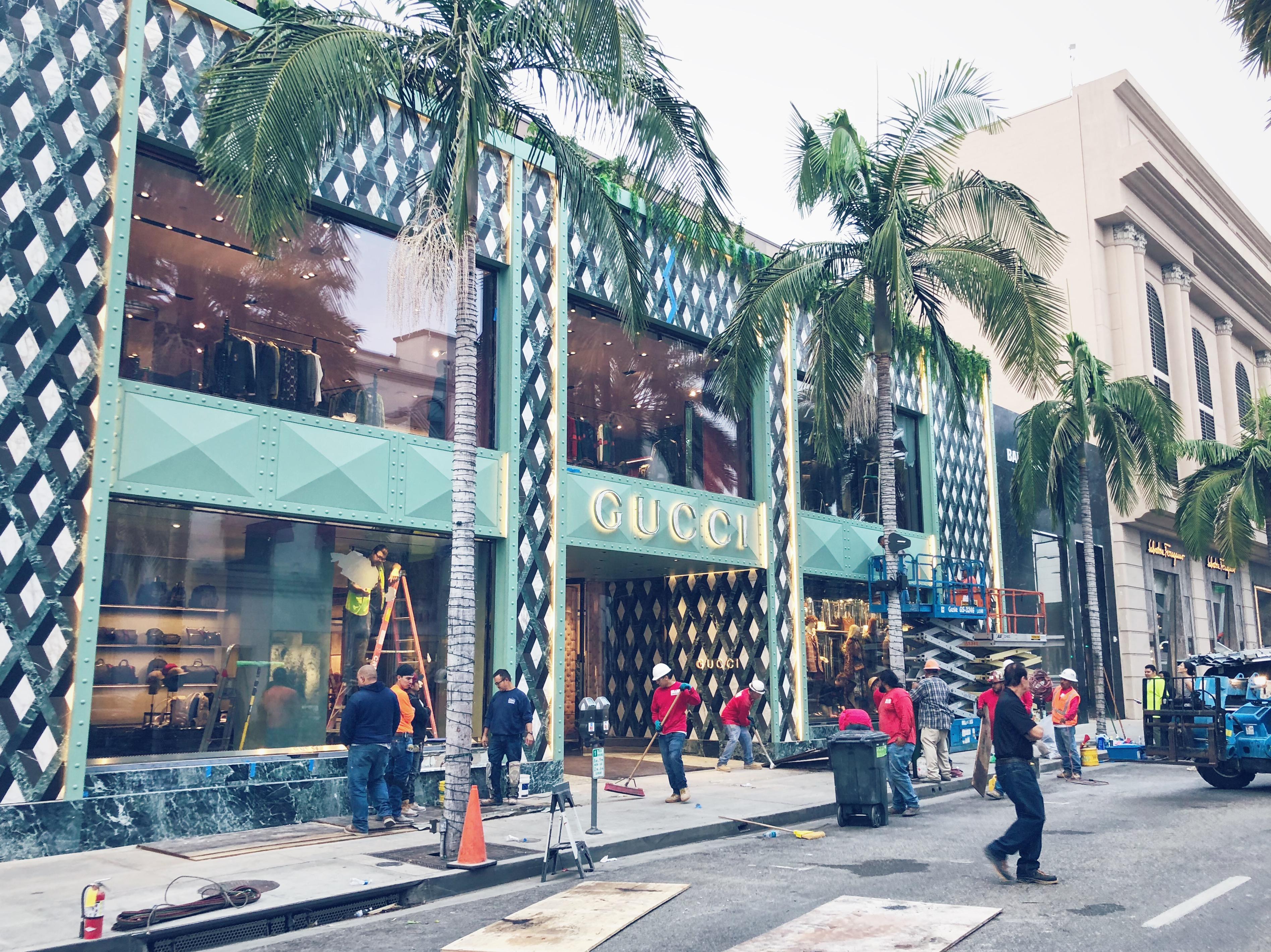 Gucci Beverly Hills Flagship Laufsed Llc